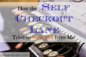 self check out lane, grocery tips, grocery shopping