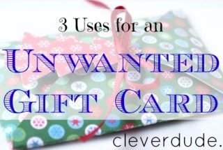 gift card, gift card ideas, unwanted gift card
