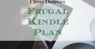 kindle plan, frugal kindle, e-book