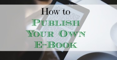 publishing your own e-book, tips to publish an e-book, e-book publishing tips