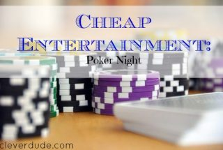 cheap entertainment, cheap games, playing poker