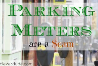 parking meter, scam, duped