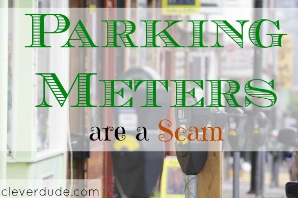 parking meter, scam, duped