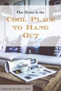 hangout place, cozy home, teenager