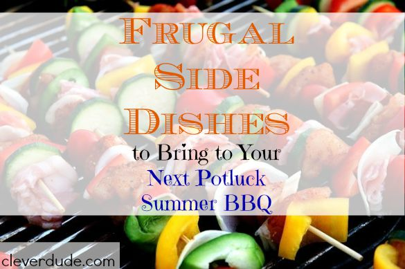 barbecue, side dishes, cheap side dishes