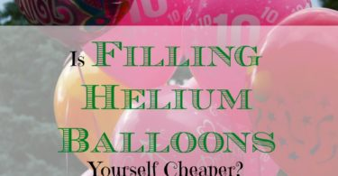 frugal balloon tips, frugal party ideas, helium balloons