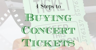 tips on buying tickets online, purchasing tickets online, buying concert tickets online