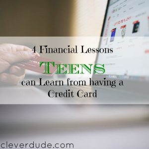 teens and credit cards, financial lesson for teens, financial advice for teens