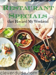 restaurant specials, restaurant deals, restaurant offers