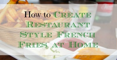french fries at home, cooking fries at home, frugal eating at home