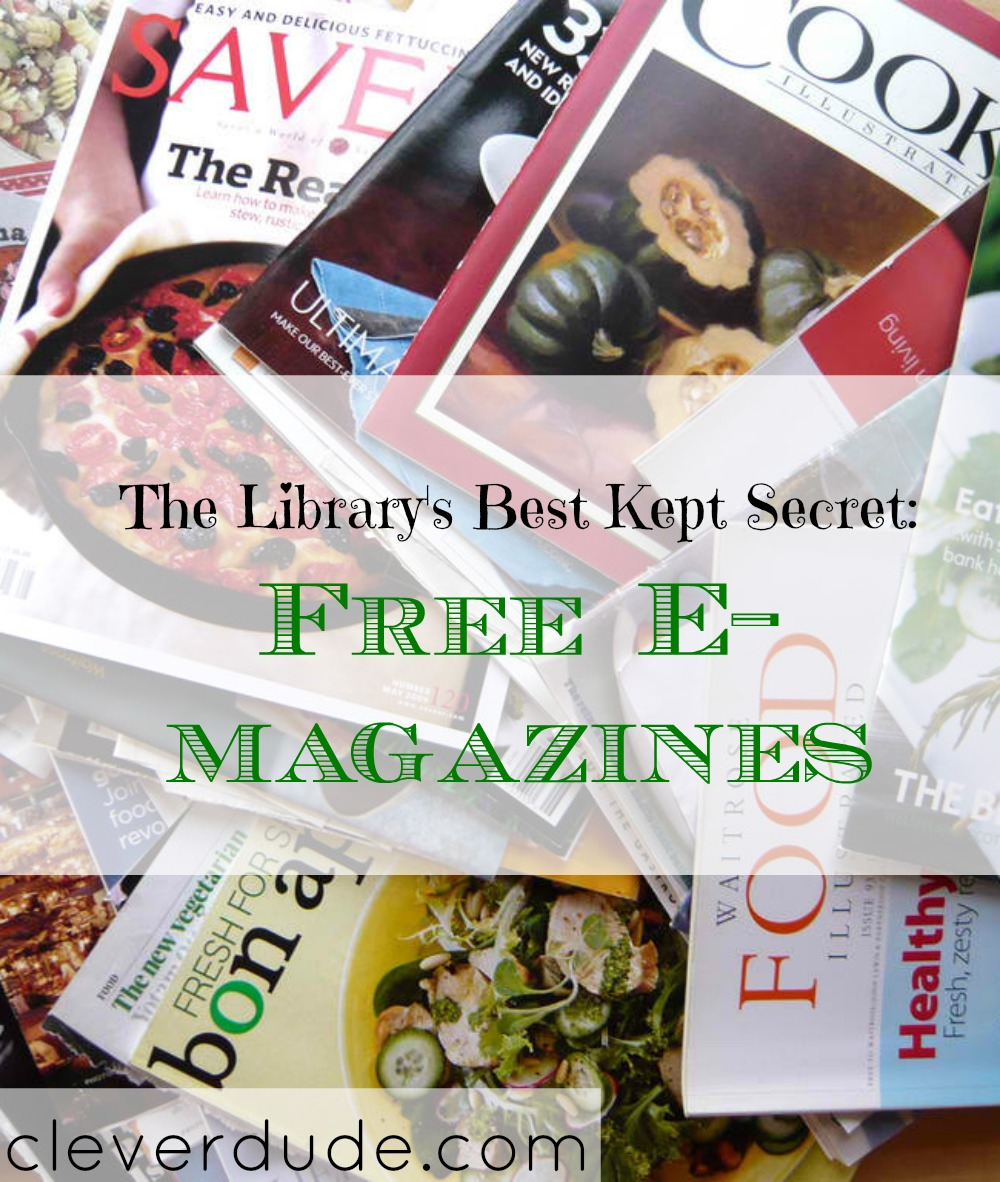 library's secrets, library tips, free e-magazines