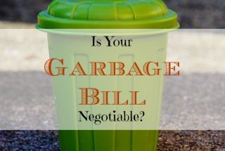 waste disposal issues, waste disposal offers, negotiating a utility bill