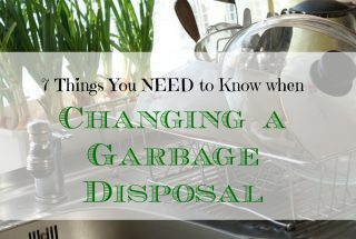 changing a garbage disposal, tips to change a garbage disposal, how to change a garbage disposal