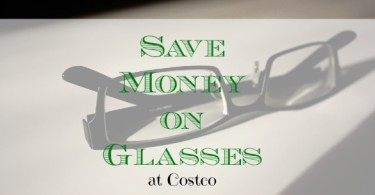 save money on glasses, saving money in Costco