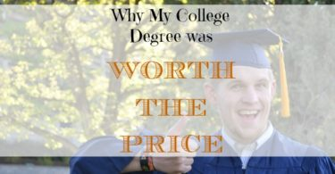 getting a college degree, college was worth the price, getting a degree