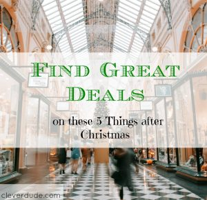 after holiday deals, great deals after the holidays, discounts after the holidays