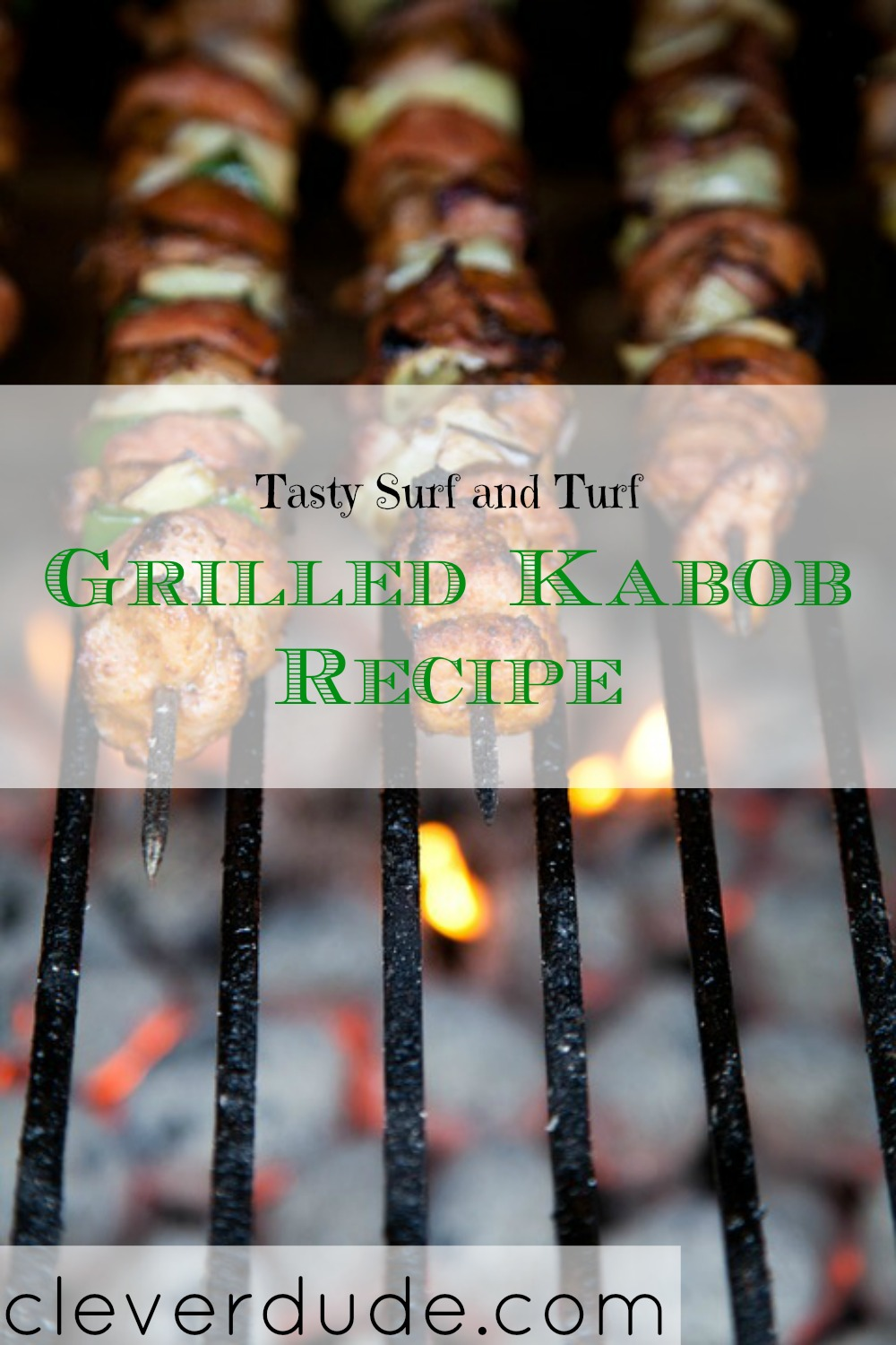 surf n' turf recipe, grilled kabobs, grilling recipees