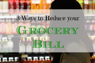 saving on groceries, reducing grocery bill, saving money on your grocery expenses
