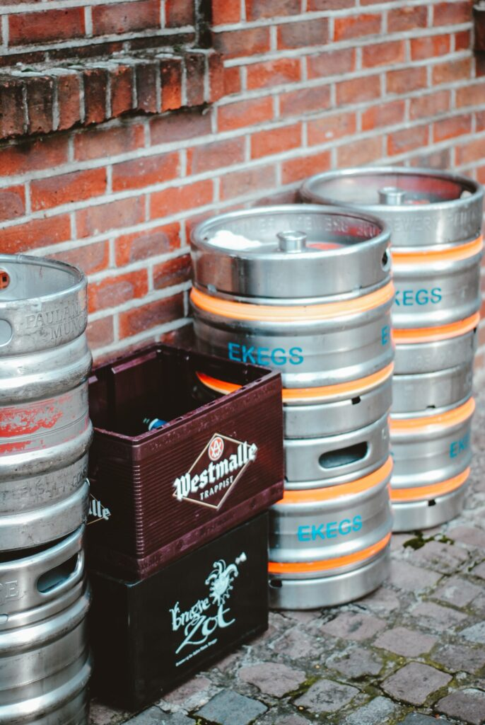 How to get empty beer kegs for free