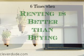 renting vs buying, renting a home, renting is better than buying a house