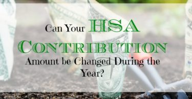 changing hsa contribution, hsa contribution advice, switching hsa contributions