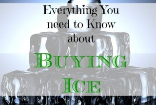 buying ice, purchasing ice tips, frugal living