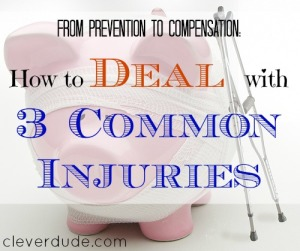 dealing with injuries, getting hurt, prevention