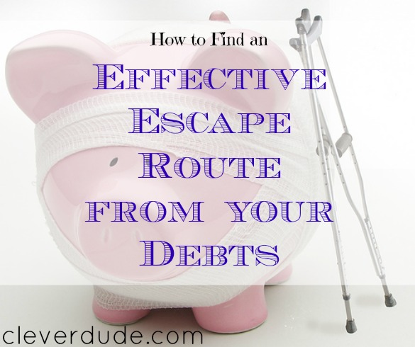 debt solution, getting out of debt, escape from debt