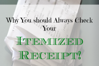 check your receipts, shopping tips, receipts checking