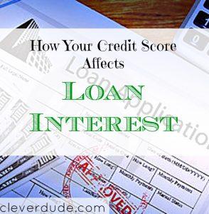 credit score tips, loan interest, loan interest advice