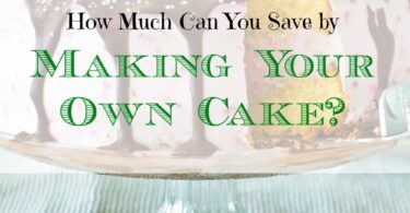 baking a cake at home, saving money on home-baked cake, saving money on cakes