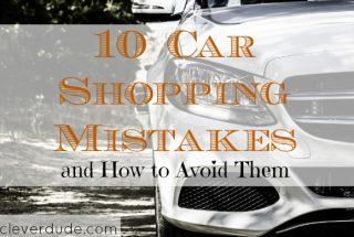 car shopping tips, car shopping mistakes to avoid, car shopping advice