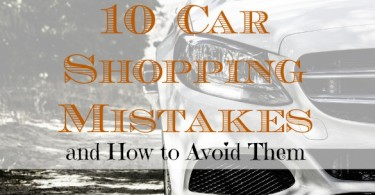 car shopping tips, car shopping mistakes to avoid, car shopping advice