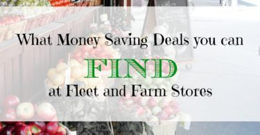 money saving deals tips, what to find at farm stores, what to find at fleet stores