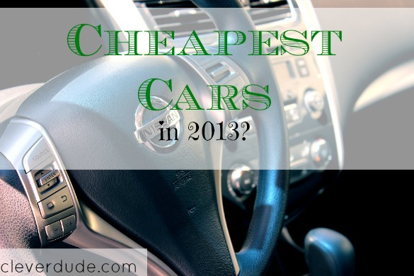 cheapest cars, best deal on cars, purchasing a car tips