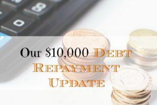 debt repayment, debt update, paying off debt