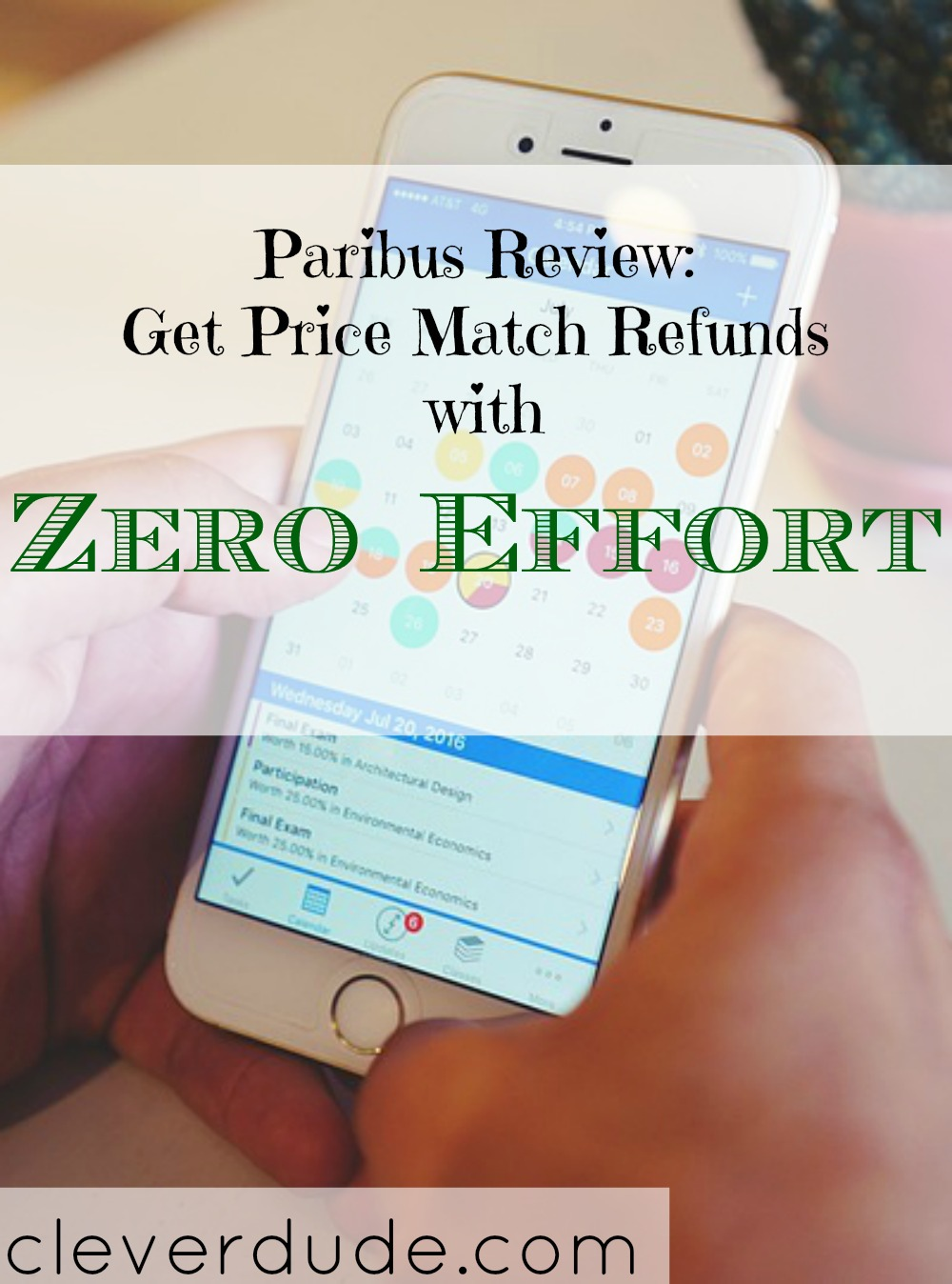 saving money through online shopping, paribus app, price match refunds