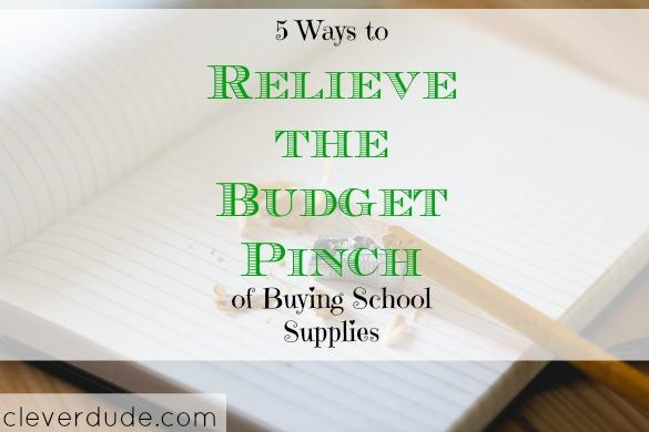 budgeting school supplies, school supplies on a budget, purchasing school supplies on a budget