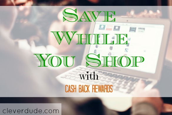 cash back, shopping with rewards, save while shopping