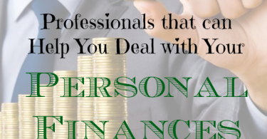 personal finance tips, professionals to help you financially, personal finance advice