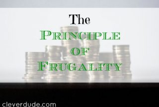 frugality, frugal living, principles of frugality
