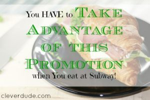 deals, promotions, Subway deals