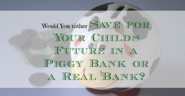 saving money for your kids, saving money for your children's future, saving money anecdotes