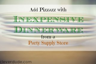dinnerware, inexpensive dinner set, frugal dinnerware