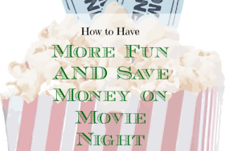 movie night, save money on movies, frugal movie night