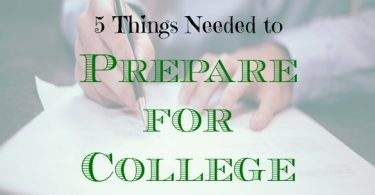 how to prepare for college, preparing for college, college preparation