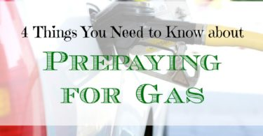 prepaying for gas, refueling tips, refueling advice