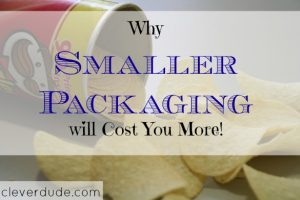 smaller packaging, chips, marketing strategies