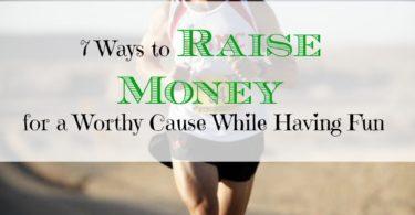 raising money while having fun, fun volunteering, raising money