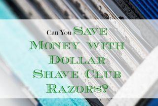 grooming for men, save money on razors, saving money experiment